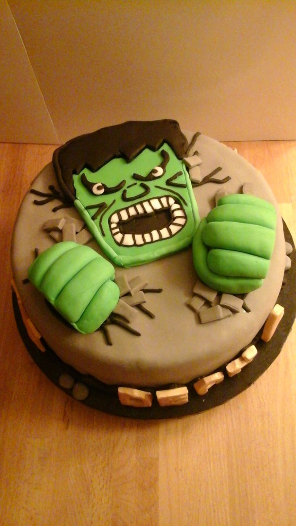 hulk taart De Taarten Toko   Hulk taart hulk taart